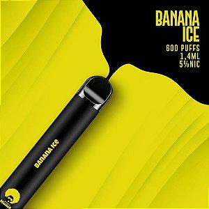 Pod descartável Puff Mamma - Fix - 600 Puffs - Banana Ice