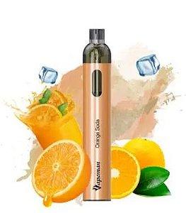 Pod Descartável 2500 Puffs - Vision - Vapeman - Orange Soda