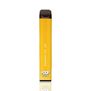 Pod descartável Yoop Plus - 800 Puffs - Banana Ice