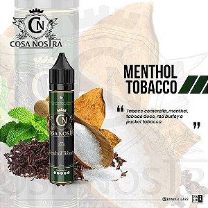 Líquido Cosa Nostra - Menthol Tobacco