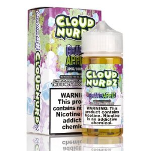 Líquido Grape Apple Ice - CLOUD NURDZ