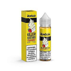 Líquido Killer Kustard Strawberry - VAPETASIA