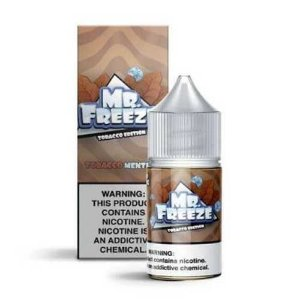 Líquido Mr. Freeze Salt - Tobacco Edition - Tobacco Menthol