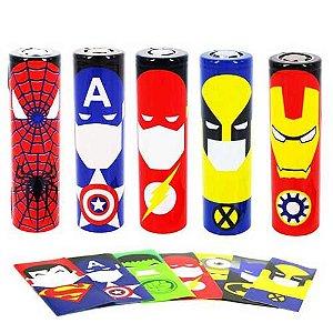 Adesivo para Bateria - Wrapper - Desenhos