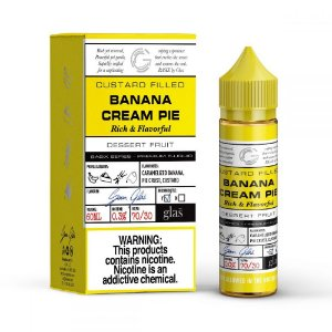 Líquido Banana Cream Pie - Basix Series - GLAS VAPOR
