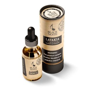 Líquido Latakia Tobacco - BLACK NOTE
