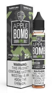 Líquido Sour Apple Belt Iced Salt - Apple Bomb - VGOD