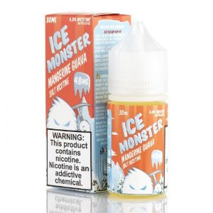 Líquido Mangerine Guava Ice Salt - JAM MONSTER
