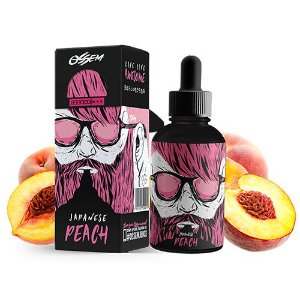 Líquido Jananese Peach - Fruity Series - OSSEM JUICE