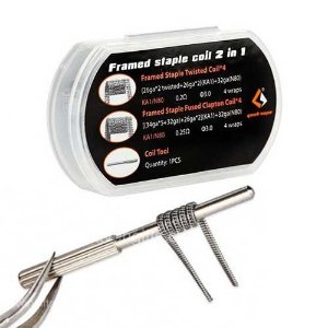 Resistência 2 em 1 Framed Staple - F202 - GEEK VAPE