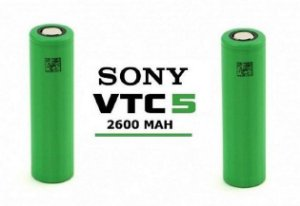 Bateria - 18650 VTC5 3.7V 2600mAh - Sony
