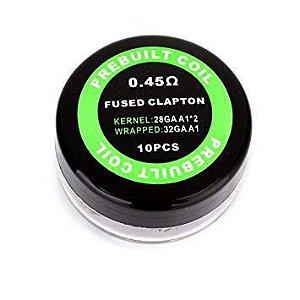 Bobinas Fused Clapton - 0.45hm (28GA A1)