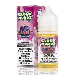 Líquido Cloud Nurdz Salt - Grape Strawberry