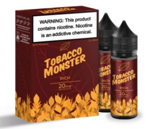 Líquido Salt Nicotine - RICH - Tobacco Monster