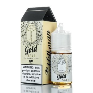 Líquido SALT Nicotine - The Milkman - Gold