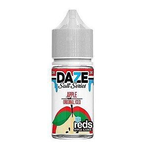 Líquido 7 Daze Reds Apple E-juice Salt - Apple Original Iced