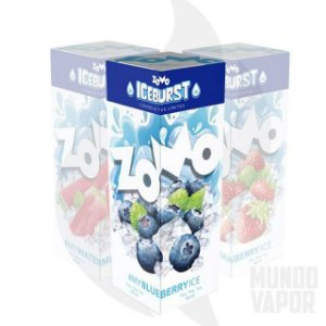 Líquido Zomo - Iceburst - My Blueberry Ice