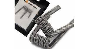 Bobina Staple Staggered Fused Clapton Coil - Geek Vape