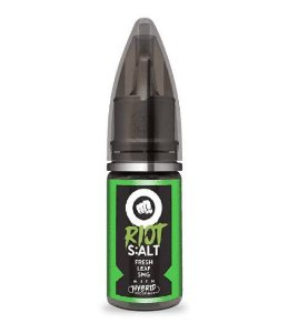 Líquido Riot Nic Salt -  Fresh Leaf