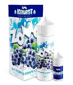 Líquido Zomo - Iceburst - My Purple Grape Ice