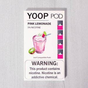 Yoop Pods Pink Lemonade - Compatíveis com JUUL - Yoop