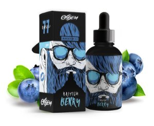 Líquido British Berry - Fruity Series - OSSEM JUICE