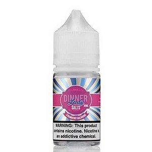 Líquido Dinner Lady Salt Nic - Strawberry Macaroon