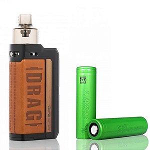 Combo Pod Drag Max Com 2 Baterias  18650 - Voopoo