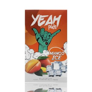 Yeah Pods Mango Ice - Compatíveis com JUUL - Yeah