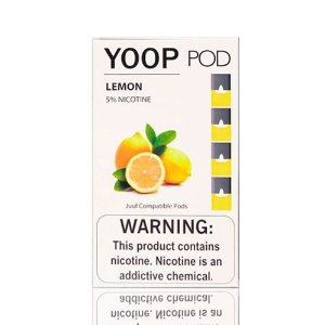 Yoop Pods Lemon - Compatíveis com Juul- Yoop Vapors
