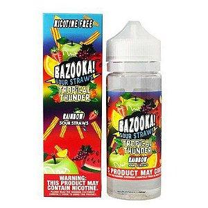 Líquido Bazooka! - Sour Straws - Rainbow