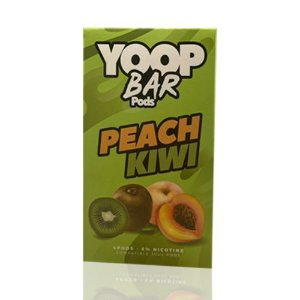Yoop Bar Peach Kiwi - Compatíveis com Juul - Yoop Vapor