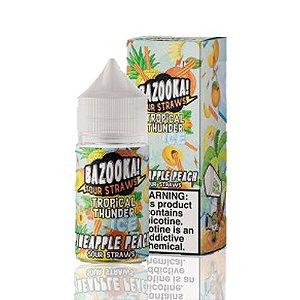 Líquido Bazooka! Salt - Sour Straws - Pineapple Peach ice