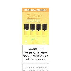 Pod Tropical Mango - Compatíveis com JUUL - QPods