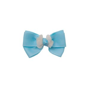 Laço Bico de Pato Azul