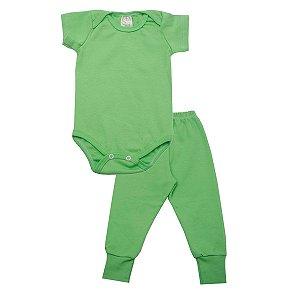 Conjunto Body e Calça de Ribana Verde