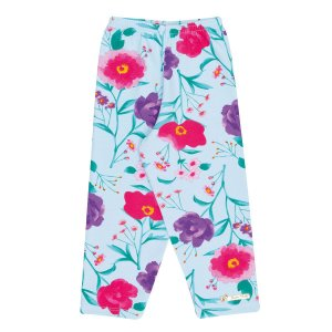 Legging Infantil Floral Cotton