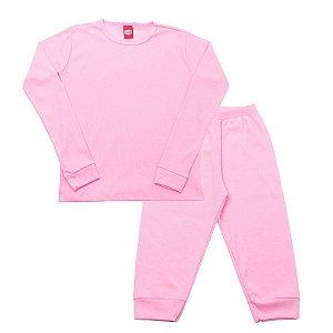 Conjunto Pijama Ribana Rosa