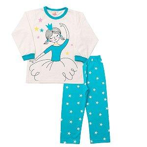 Pijama Bailarina Meia Malha