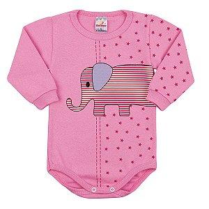 Body Elefante Rosa