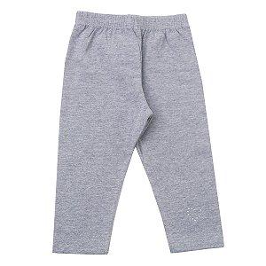 Calça legging Cotton Mescla