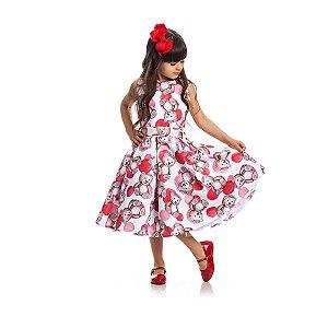 Vestido de Festa Princesa Ursa