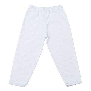 Calça de Canelado Branco