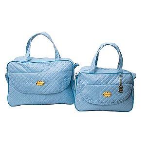 Kit Bolsas Maternidade Azul