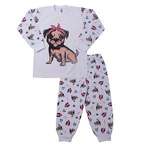 Pijama Happy Dog Brilha no Escuro