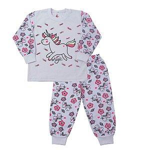 Pijama Unicornio Brilha no Escuro