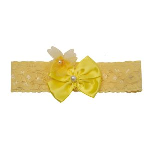 Faixa de Cabelo Amarela Bebê