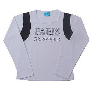 Blusa Cotton Branco Paris