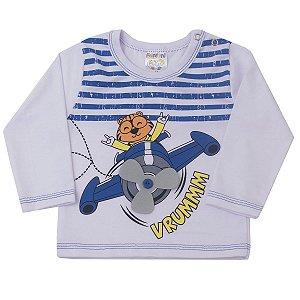 Camiseta Listra Azul Interativa Vrummm