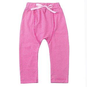 Calça Saruel Cotton com Cadarço Pink